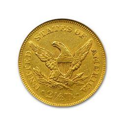 1852 $2.50 Liberty GOLD Quarter Eagle NGC MS61