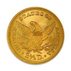 1907 $2.50 Liberty GOLD Quarter Eagle PCGS MS64