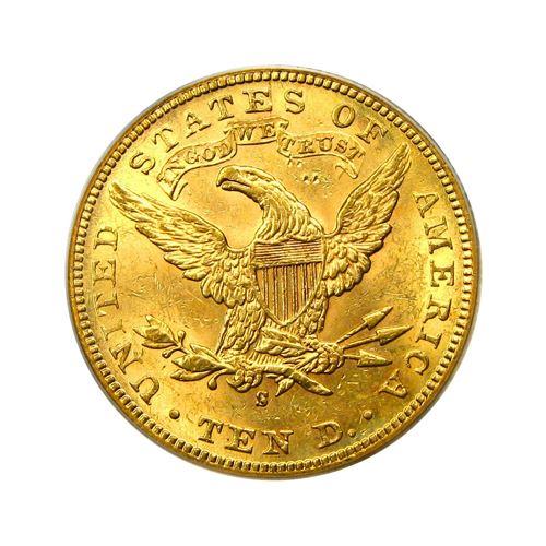 1906-S $10 Liberty Gold Eagle PCGS MS61