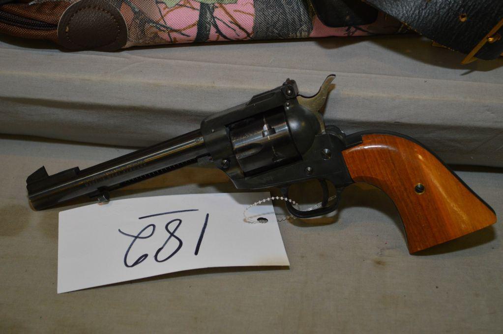 Herbert Schmidt Model 21 6 Shot  22 LR Cal Revolver w/ 140 mm bbl