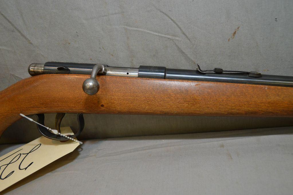 Anschutz Model Sporter  22 LR Cal Single Shot Bolt Action Rifle w
