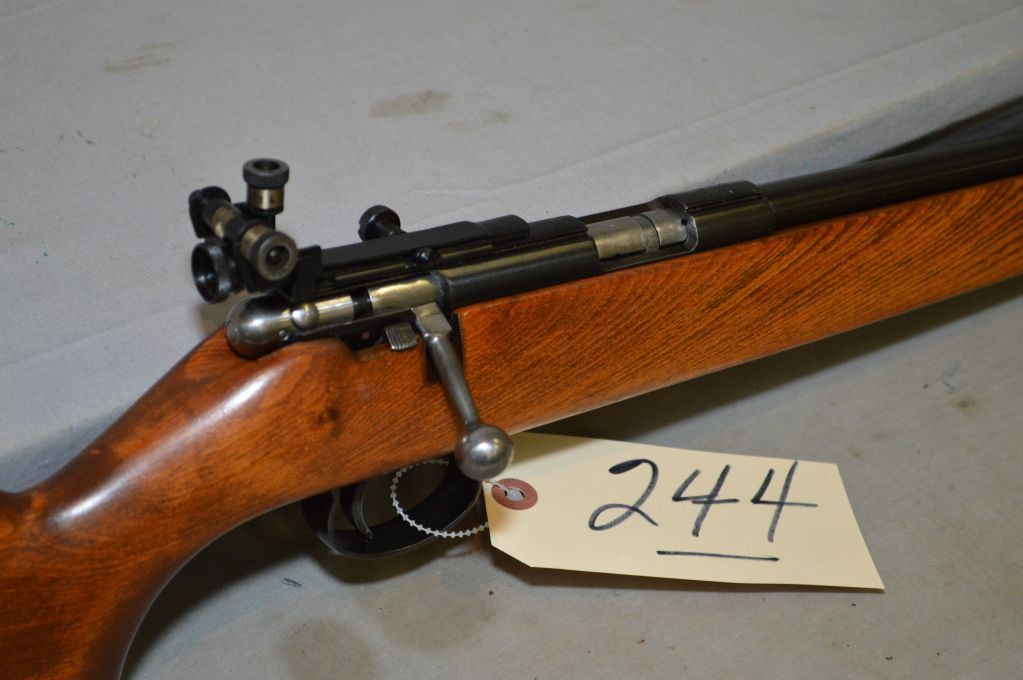 CIL Anschutz Model 180  22 LR Cal Single Shot Bolt Action Rifle w