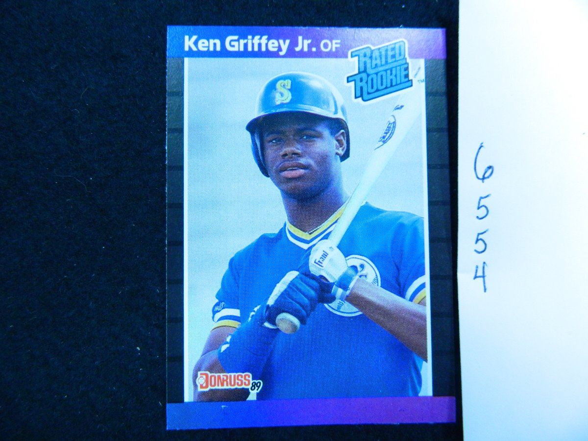 1989 Donruss33 Ken Griffey Jr Rookie Card