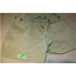 WWII CND army shorts (Size 34)