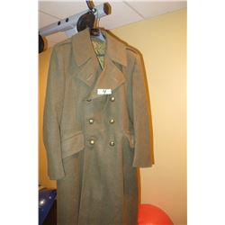 Post war battle dress great coat 1949 pattern mfg 1954