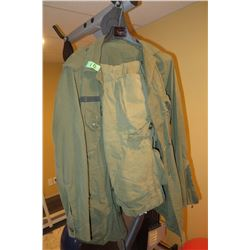 CDN Forces combat shirt and pants green