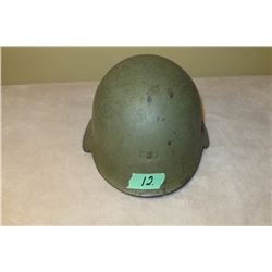 Spanish Civil War M38 steel helmet c/w liner