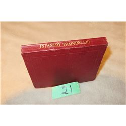 1911 British Infantry training Manual good condition