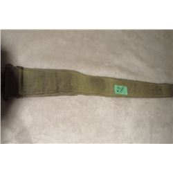 WWII Canadian P37 web belt (walking out)