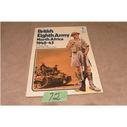 British Eighth Army North Africa 1940-43 Robert Adair soft cover