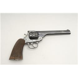 H&R 22 Special D.A. 9 shot revolver, S/N 577164.  In very good used condition with 75%-85% original