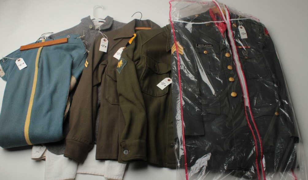 Lot of 5 misc  uniforms