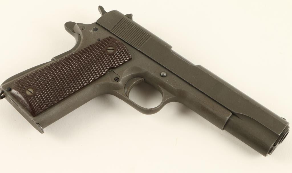 U S  Property Model 1911-A1 semi-automatic pistol by