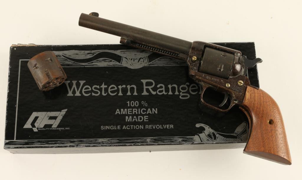 """Western Ranger SA revolver,  22 L R  caliber, 6 ½"""" barrel"""