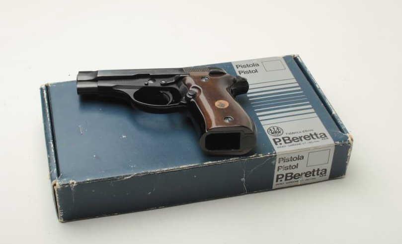 Beretta Model 84 DA semi-automatic pistol,  380 caliber, 3 75