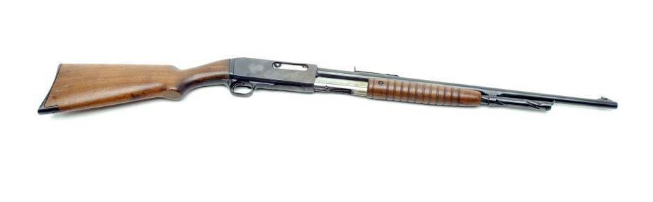 Remington Model 14 pump action rifle,  25 Rem  caliber, 22