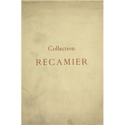 Bourgey's 1925 Sale of the Récamier Collection