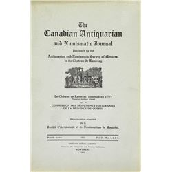Canadian Antiquarian & Numismatic Journal