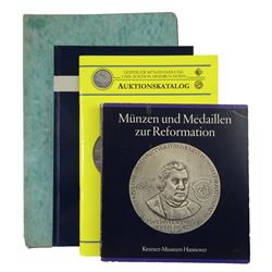 Important Catalogues on Reformation Medals