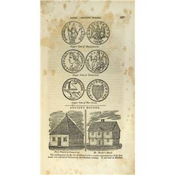 Featuring Early Illustrations of American Colonial Coins