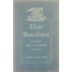 Boyd's Biography of Elias Boudinot