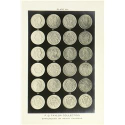 Plate Depicting Early Cents from the F.D. Taylor Collection
