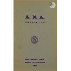 The 1946 ANA Sale,