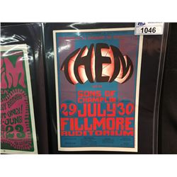 THEM/SONS OF CHAMPLIN POSTER - 2ND PRINTING-THERE IS NO UNION LOGO.  07/29/1966 ARTIST: