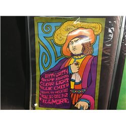 NITTY GRITTY DIRT BAND/CLEAR LIGHT/BLUE CHEER POSTER - THIS POSTER WAS PRINTED ONLY ONCE.