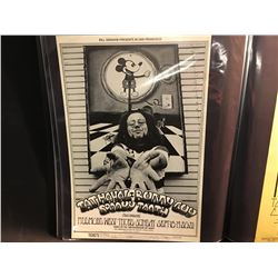 TAJ MAHAL/BUDDY GUY/SPOOKY TOOTH POSTER - THIS POSTER WAS ONLY PRINTED ONCE, SMALL EDGE TEAR.