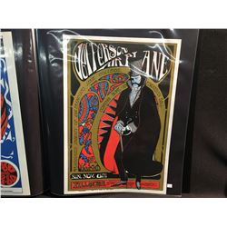 'EDWARDIAN BALL' JEFFERSON AIRPLANE @ FILMORE AUDITORIUM POSTER - S.F. POSTER COMPANY REPRINT EARLY