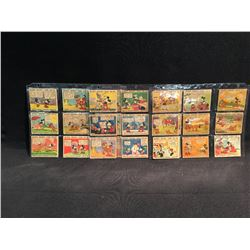 LOT OF 27 MICKEY MOUSE COLLECTOR / TRADING CARDS, PRINTED BY O-PEE-CHEE COMPANY, LONDON, CANADA