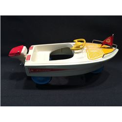 2 LIMITED EDITION XONEX COLLECTABLE VEHICLES INC BOAT AND AIRPLANE