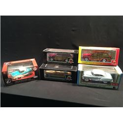 LOT OF 5 VINTAGE REPLICA CARS INC: '53 CHEVROLET BEL AIR, '49 FORD WOODY STATION WAGON,