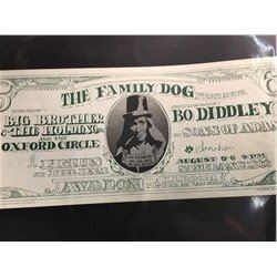 'DOLLAR BILL' POSTER - BIG BROTHER AND THE HOLDING COMPANY/BO DIDDLEY. SAYS 19-2 CORRECTLY, NO