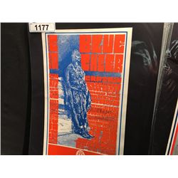 'SMILING HUN' POSTER - BLUE CHEER/CAPTAIN BEEFHEART/YOUNGBLOODS. THIS POSTER WAS ONLY PRINTED ONCE.