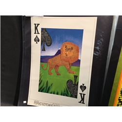 'KING OF SPADES' POSTER - BUDDY GUY/CAPTAIN BEEFHEART/BLUE CHEER. THIS POSTER WAS ONLY PRINTED ONCE