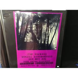 IN A WOODPILE' POSTER - TIME BUCKLY/VELVET UNDERGROUND/ALLEM JOY. THIS POSTER WAS PRINTED ONLY