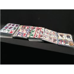 LARGE QUANTITY CARD HOLDERS WITH MIXED ERA CARDS