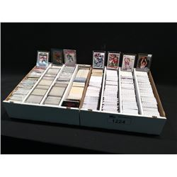 2 LARGE BOXES OF ASSORTED SPORTS CARDS, PRIMARILY HOCKEY
