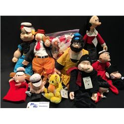 COLLECTION OF WALT DISNEY CHARACTERS INC: POPEYE, OLIVE OIL, BRUTO, SWEET PEA BY
