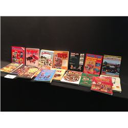 LARGE LOT OF INFORMATIONAL  BOOKS INC: DISNEY, TOYS, PEDAL CARS AND MORE