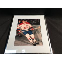 PICTURE SIGNED BY JEAN BELIVEAU