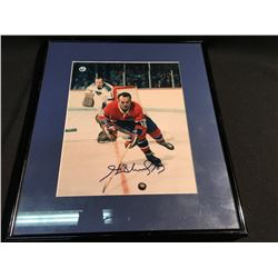 AUTOGRAPHED AND FRAMED HENRI RICHARD PICTURE