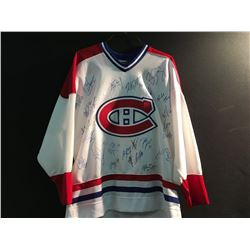 MONTREAL CANADIENS TEAM SIGNED JERSEY