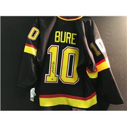 SIGNED VANCOUVER CANUCK PAVEL BURE JERSEY