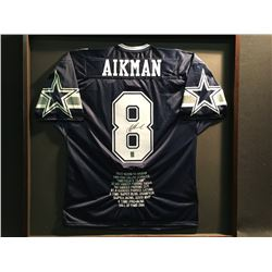 AUTOGRAPHED TROY AIKMAN JERSEY