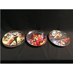 SET OF 3 LIMITED EDITION STAR WARS PLATES