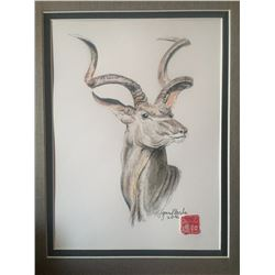 Original Artwork - Kudu Cover