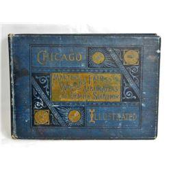 "1893 ""MARTINS WORLDS FAIR ALBUM ATLAS AND FAMILY SOUVENIR"" HARDCOVER BOOK"